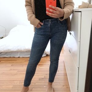 Levi's Ankle High Rise Jeans